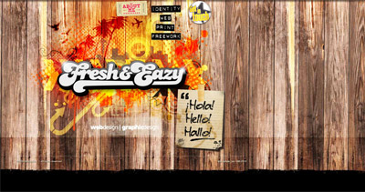 fresh&eazy Website Screenshot