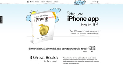 Inside Secrets To An Iphone App Website Screenshot