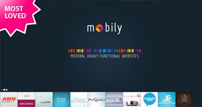 mobily Website Screenshot