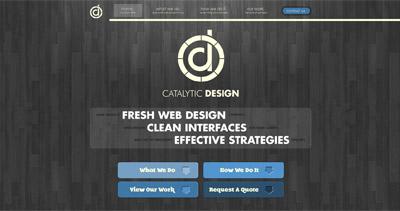 Catalytic Design Website Screenshot