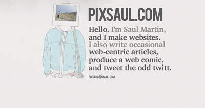 Pixsaul Website Screenshot