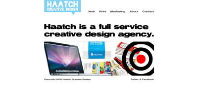 Haatch Creative Design Website Screenshot