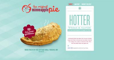Minneapple Pie Website Screenshot