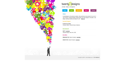twenty2esigns Website Screenshot