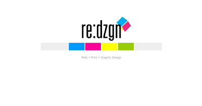 Re:Dzgn Website Screenshot
