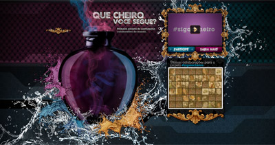 Siga o Cheiro Website Screenshot