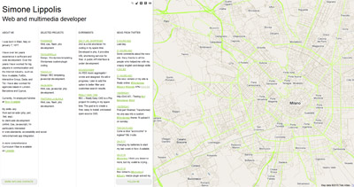 Simone Lippolis Website Screenshot
