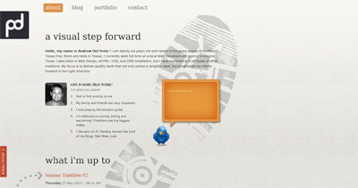 Paths of Design Website Screenshot