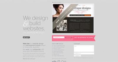 Meta Set Website Screenshot