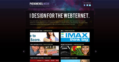 Phenomeneil Media Website Screenshot