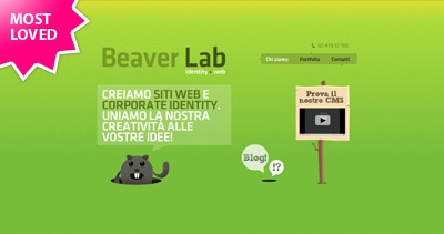 Beaver Lab Website Screenshot