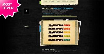 Alexey Chernishov Website Screenshot