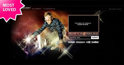 The World of LZ7 Website Screenshot