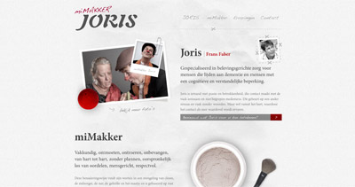 miMakker Joris Website Screenshot