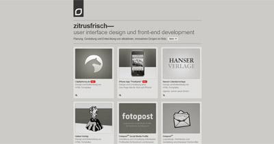 zitrusfrisch Website Screenshot