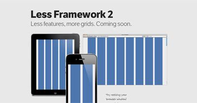 Less Framework 2 Website Screenshot