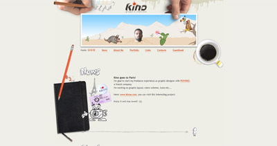 Kino Website Screenshot