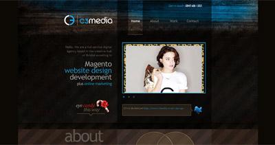 C3 Media Website Screenshot