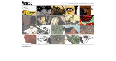 Dan Selleck Website Screenshot