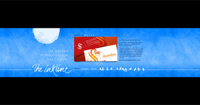The Inkline Website Screenshot