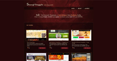 Smarajit Dasgupta Website Screenshot