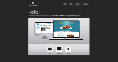 studiozo Website Screenshot
