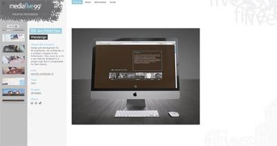 Media Five99 Website Screenshot