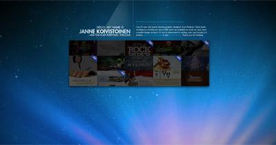 Janne Koivistoinen Website Screenshot