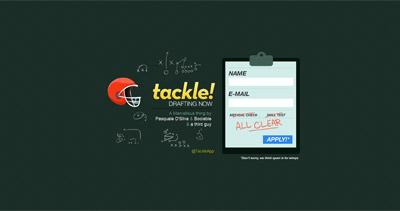 Tackle Website Screenshot
