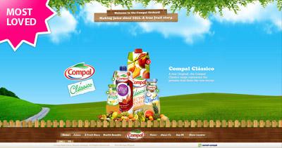 Compal Website Screenshot