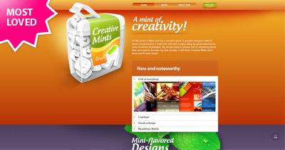 Creative Mints Website Screenshot