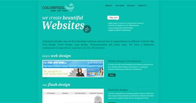 Colorpixel Website Screenshot