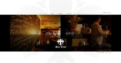 Sor Tino Website Screenshot