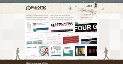 Panoetic Website Screenshot