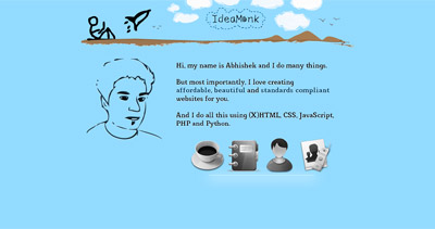 IdeaMonk Website Screenshot