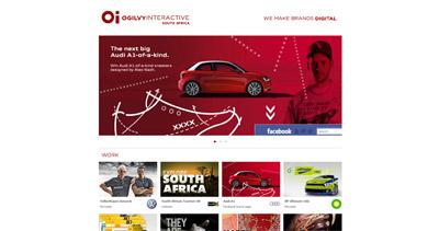 Ogilvy Interactive South Africa Website Screenshot