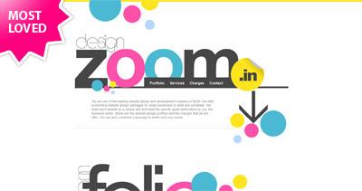 Design Zoom Website Screenshot