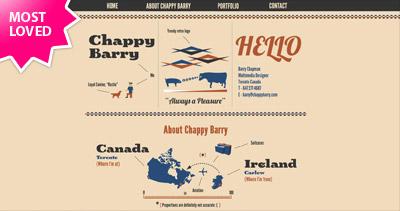 Chappy Barry Website Screenshot