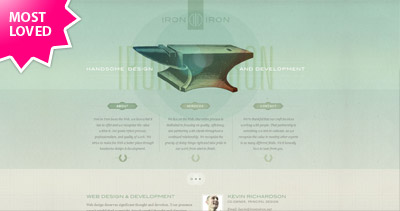 Iron to Iron Website Screenshot