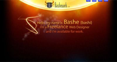 Bashe Website Screenshot