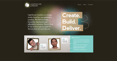 Lighthouse London Website Screenshot