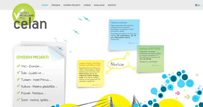 Štefan Čelan Website Screenshot