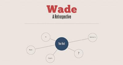 Wade Website Screenshot