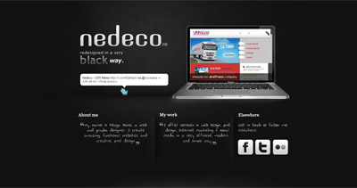 Nedeco Website Screenshot