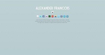Alex Francois Thumbnail Preview