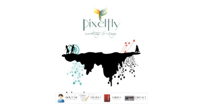 Pixelfly Website Screenshot