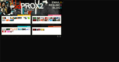prox2 Website Screenshot