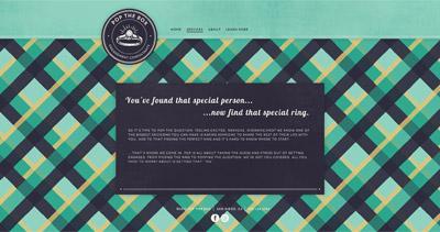 Pop The Box Website Screenshot