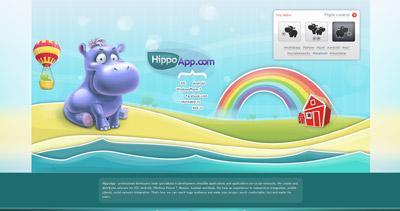 HippoApp Website Screenshot