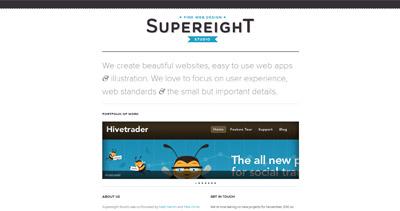 Supereight Studio Ltd. Website Screenshot
